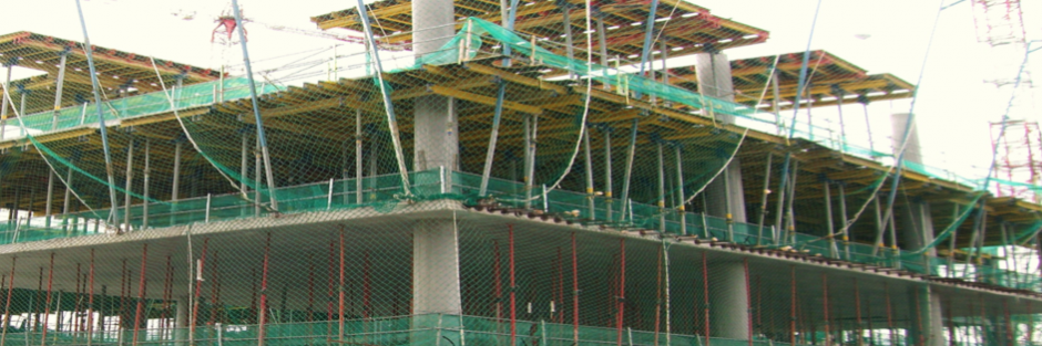 Área Control Building Security servicio de protecciones colectivas en obras
